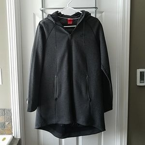 Women's long Nike coat